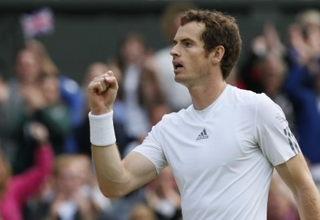 Andy Murray during Wimbledon 2013 semi finals.