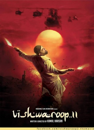 """Vishwaroopam 2"" first look poster (Official facebook page/ Kamal Haasan)"