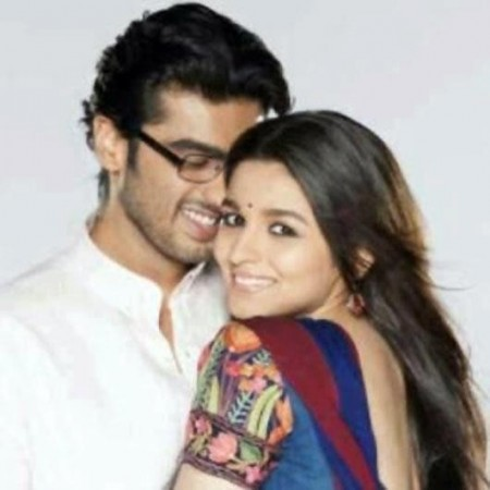 Arjun Kapoor and Alia Bhatt in 'Two States'