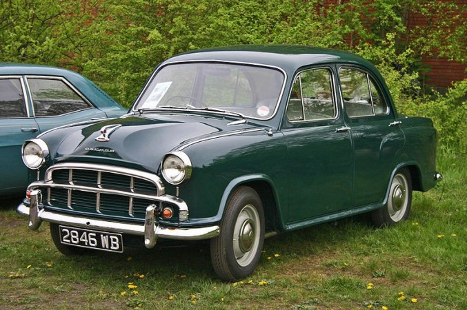Morris Oxford Series III was launched in India in 1957 as Ambassador Mark