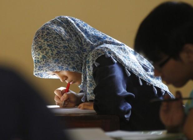 girl students indonesia