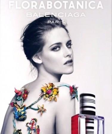 Kristen Stewart topless in latest Balenciaga Florabotanica fragrance ad