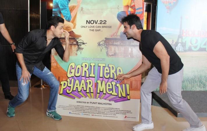 Imran Khan and director Punit Malhotra at Gori Tere Pyaar Mein Event ( Varinder Chawla)