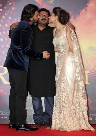 Ranveer Singh, Sanjay Leela Bhansali, Deepika Padukone