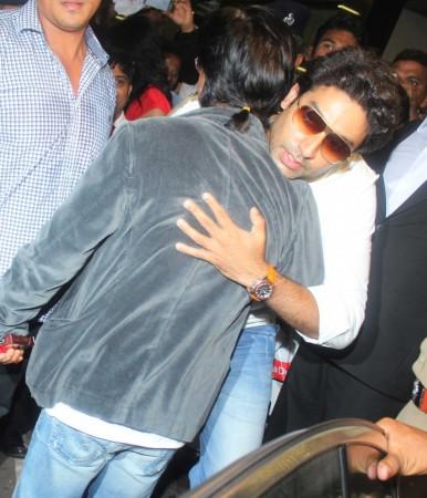 Shah Rukh Khan, Abhishek Bachchan