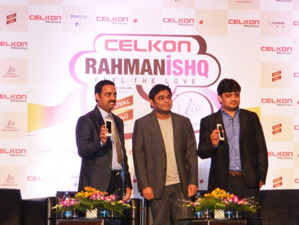 Celkon Launches A.R Rahman Branded Music-Centric Smartphone for ₹7,999