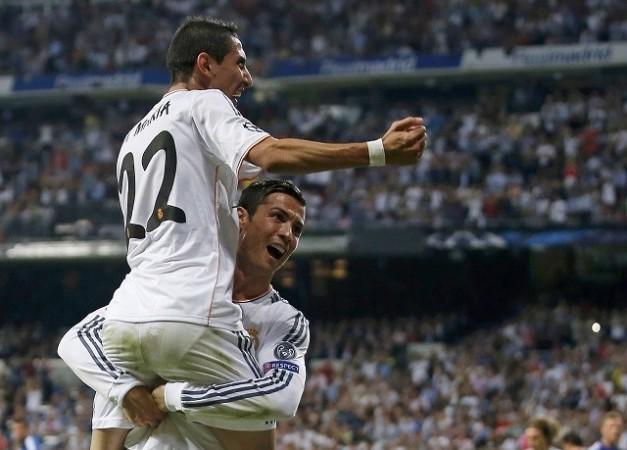 Ronaldo Di Maria Real Madrid