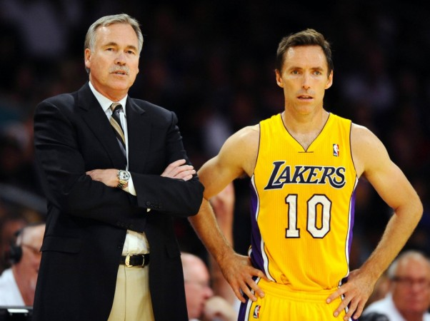 Mike D'Antoni and Steve Nash