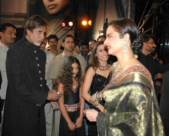 Amitabh Bachchan, Rekha