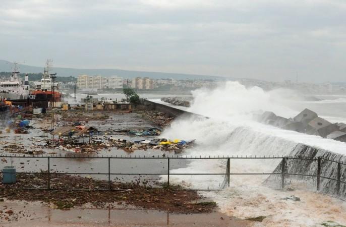 India's East Coast Braces for Cyclone Phailin