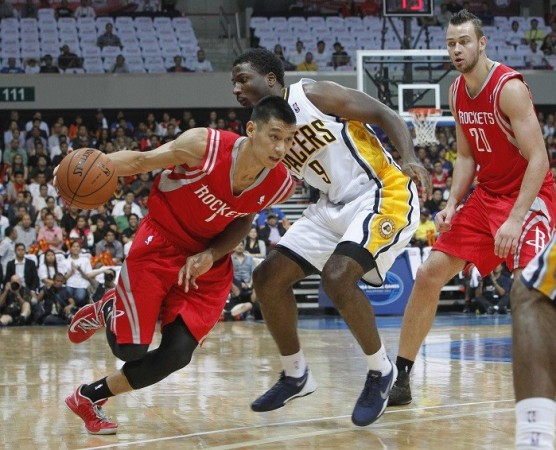 Lin Houston Rockets Hill Indiana Pacers