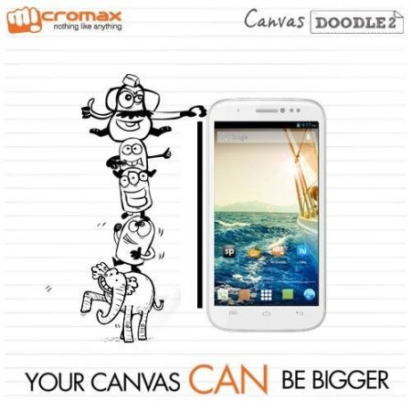 Micromax Canvas Doodle 2 (Credit: Micromax Mobile/Facebook)