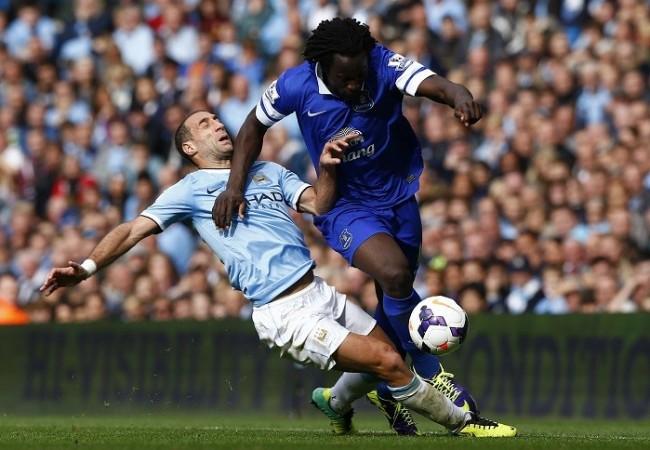 Lukaku Zabaleta Everton Manchester City