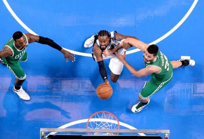 Wolves v Celtics