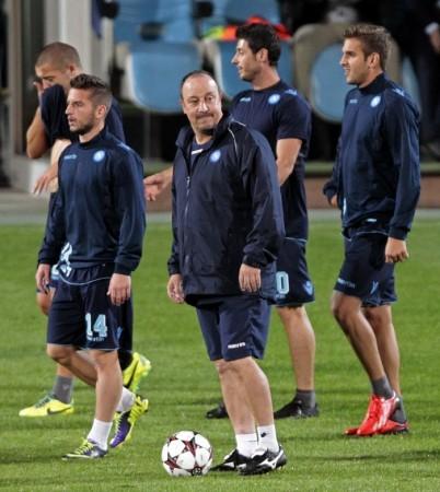 Rafa Benitez Napoli
