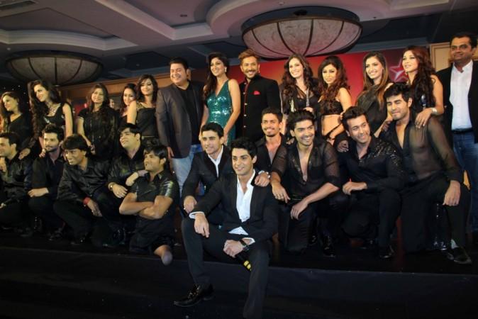Celebrity Contestants with Judges of Nach Baliye 6 (Varinder Chawla)