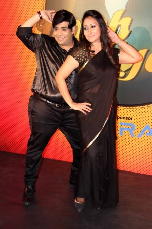 Kiku and Priyanka Sharda (photo Varinder Chawla)