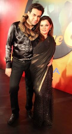Kanica Maheswari Ghai and Ankur Ghai (photo Varinder Chawla)