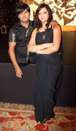 Vinod Pradhan and Raksha(photo Varinder Chawla)