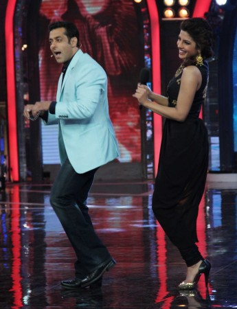 Priyanka and Slaman in BB 7 (photo Varinder Chawla)