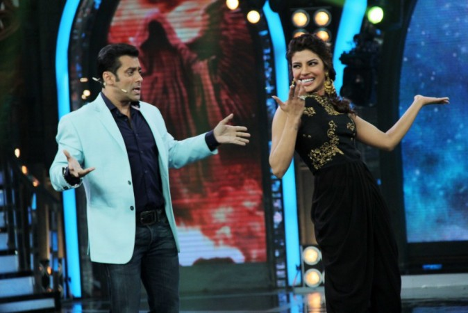 Salman Khan and Priyanka Chopra in action (photo Varinder Chawla)