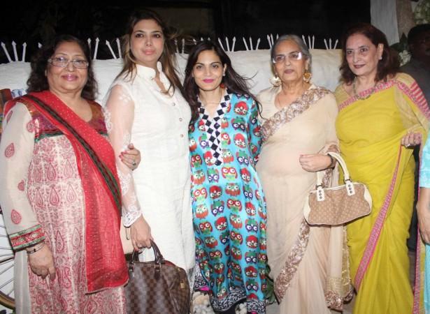 Alvira Khan's store launch
