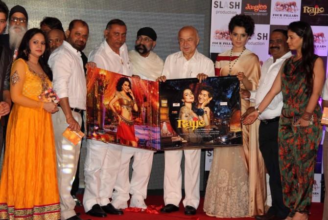 Home Minister Sushilkumar Shinde at music launch of 'Rajjo'