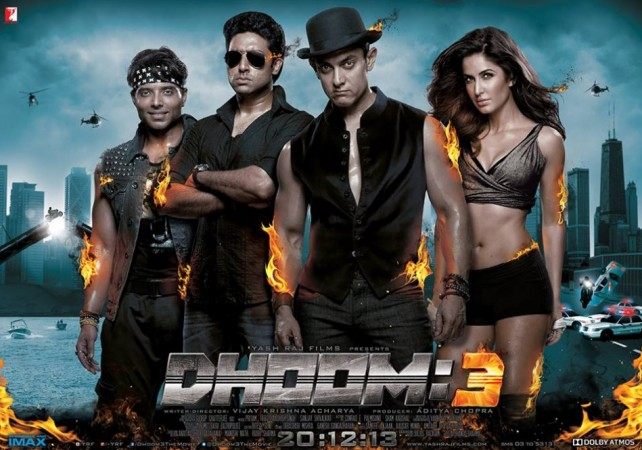 Dhoom 3 Poster (Facebook Official Dhoom 3)