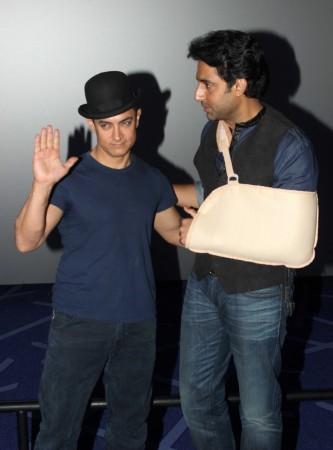 Aamir Khan, Abhishek Bachchan