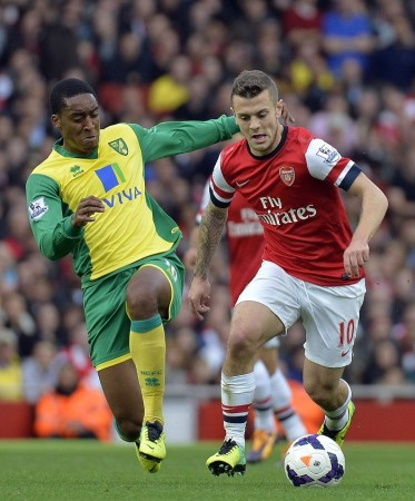 Wilshere Arsenal Norwich