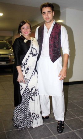 Imran Khan and wife Avantika(Varinder Chawla)