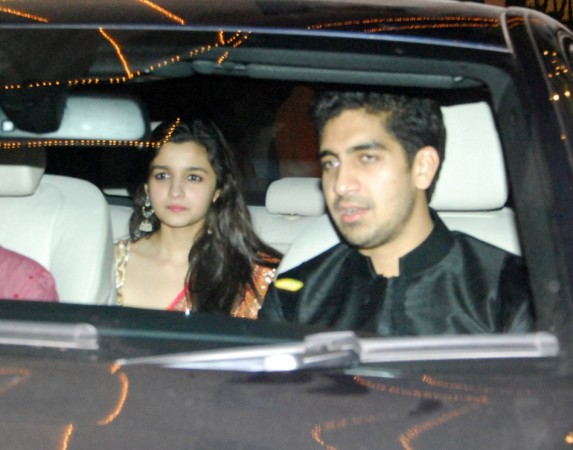 Director Ayan Mukherjee and Alia Bhatt arrive (Varinder Chawla)