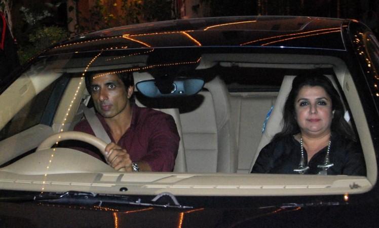 Sonu Sood and Farah Khan (Varinder Chawla)