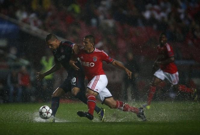 Benfica Olympiakos Lima Holebas