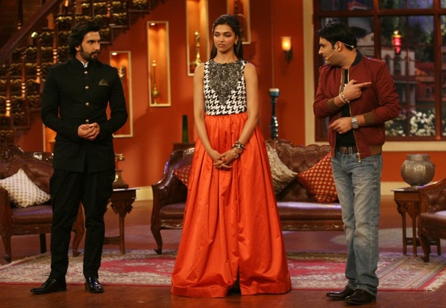 Ranveer Singh, Deepika Padukone, Kapil Sharma