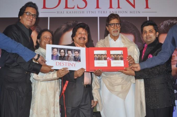 Talat Aziz, Anup Jalota, Pankaj Udhas, Sumeet Tappoo, Amitabh Bachchan