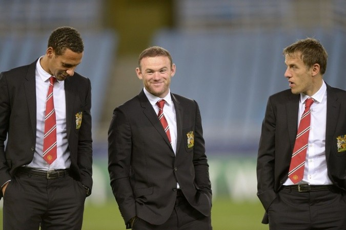 Ferdinand Rooney Neville Manchester United