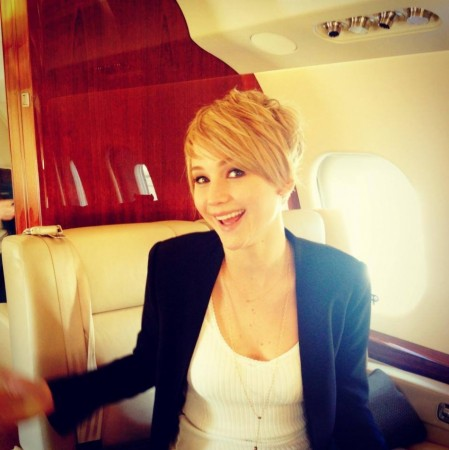 Jennifer Lawrence Back To Blonde, Opts For Pixie Hair Style