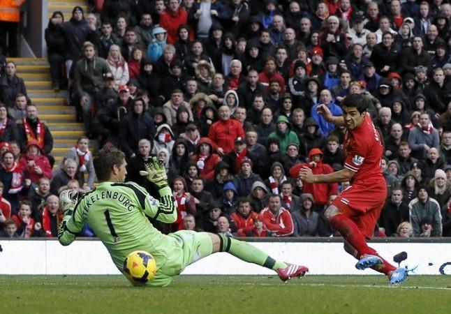 Liverpool Luis Suarez Stekelenburg