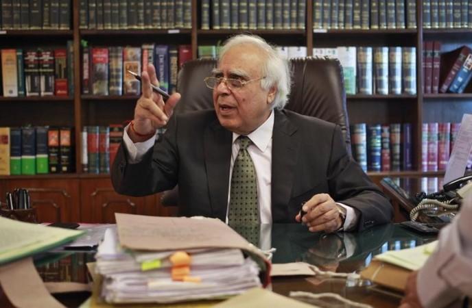 Union Law Minister Kapil Sibal