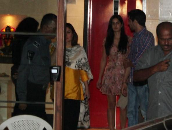 Katrina Kaif Emerges with Kareena on left (Varinder Chawla)