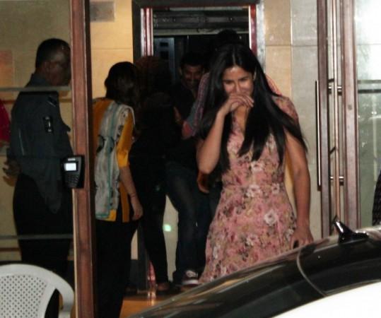 Katrina Can Hardly contain her Laugh (Varinder Chawla)