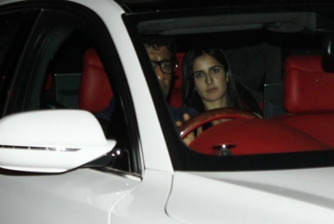 Katrina Kaif on her way out (Varinder Chawla)