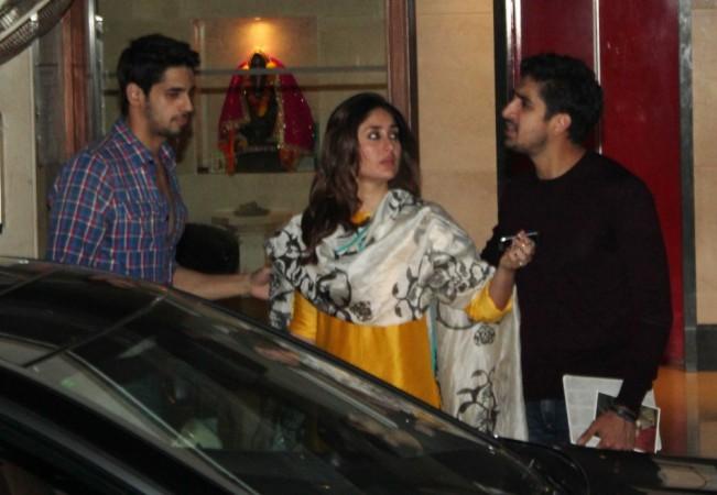 Ayan looks displeased with Siddharth while Kareena comes in between (Varinder Chawla)