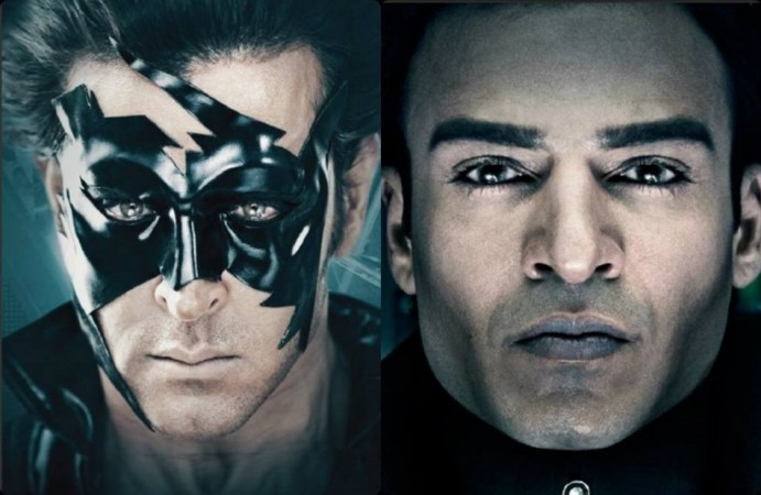 Hrithik Roshan as Superhero and Vivek Oberoi as evil Kaal  in Krissh 3 (Facebook Krissh 3 Official)