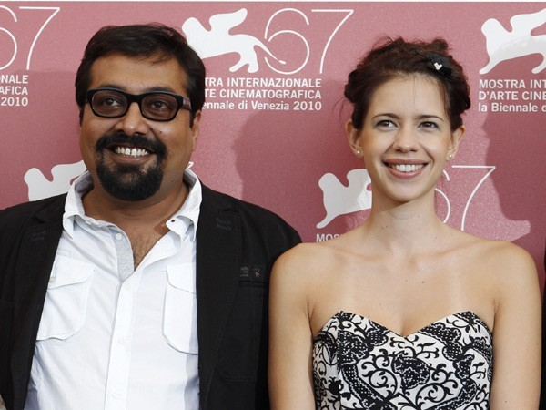 Anurag Kashyap and Kalki Koechlin in happier times