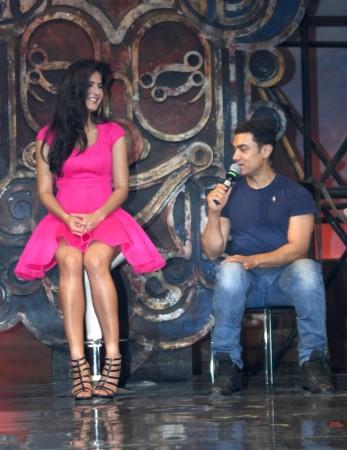 Katrina Kaif, Aamir Khan