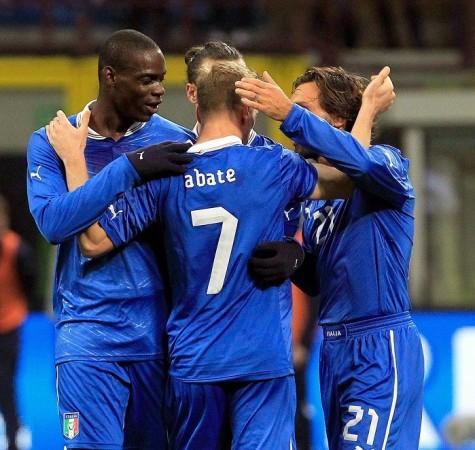 Balotelli Italy Abate