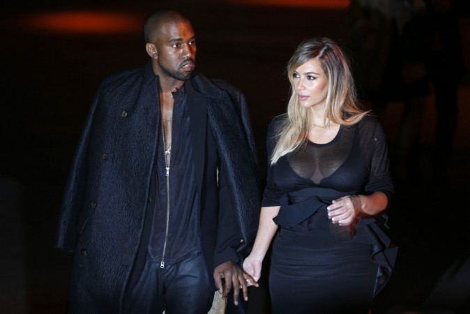 """Kim Kardashian Goes Topless For Fiancé Kanye West' """"Bound 2"""" Video"""
