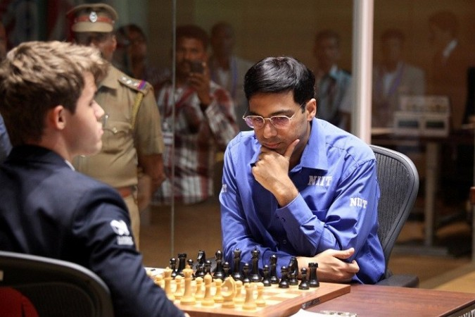 Anand Carlsen Chess